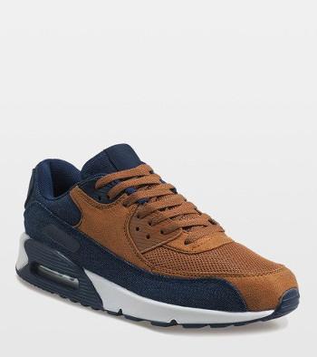 Granatowe męskie buty sportowe