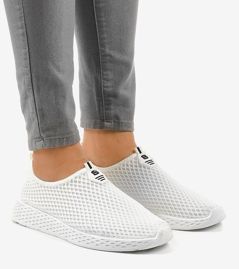 Białe damskie obuwie sportowe SJ1890 3