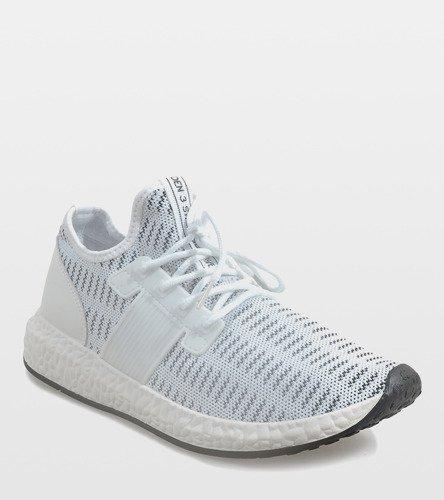 24f15873 Białe męskie obuwie sportowe S33 | Obuwie Gemre online