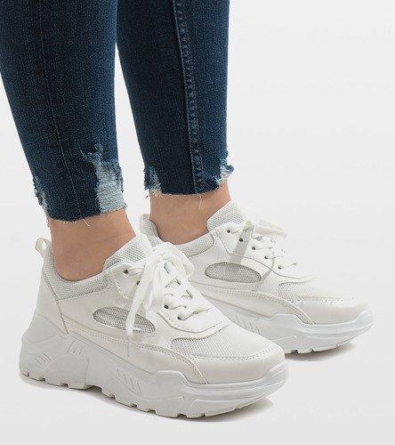 af11c9ab Białe modne obuwie sportowe PP-37 | Obuwie Gemre online