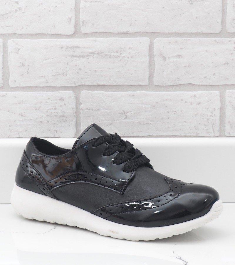 Czarne damskie obuwie sportowe YD 7