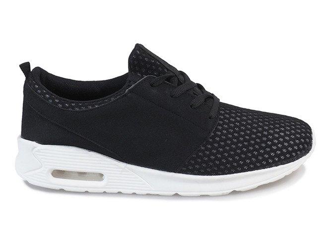9101b21f Czarne męskie obuwie sportowe M633-2 | Obuwie Gemre online
