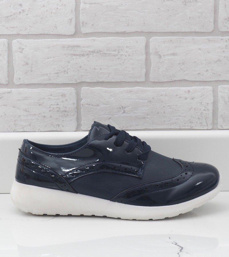 Granatowe damskie obuwie sportowe YD 7