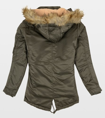 2b7dc74fa125e Męska zimowa kurtka parka zielona obuwie gemre online jpg 444x500 Parka  zielona