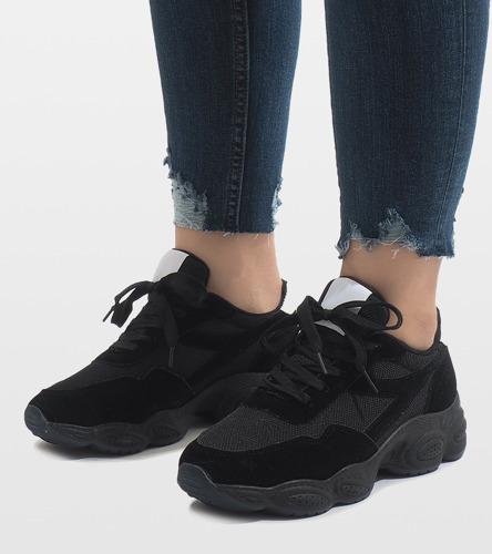 2e4e9d82 Kliknij, aby powiększyć; Czarne buty sportowe E-102